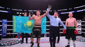Данияр Елеусінов америкалық боксшыны бірінші раундта жеңіп шықты