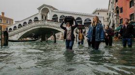 Венецияның 75 пайызы су астына кетті