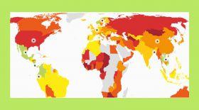 Онлайн-олжа: бақытты ғаламшар индексі