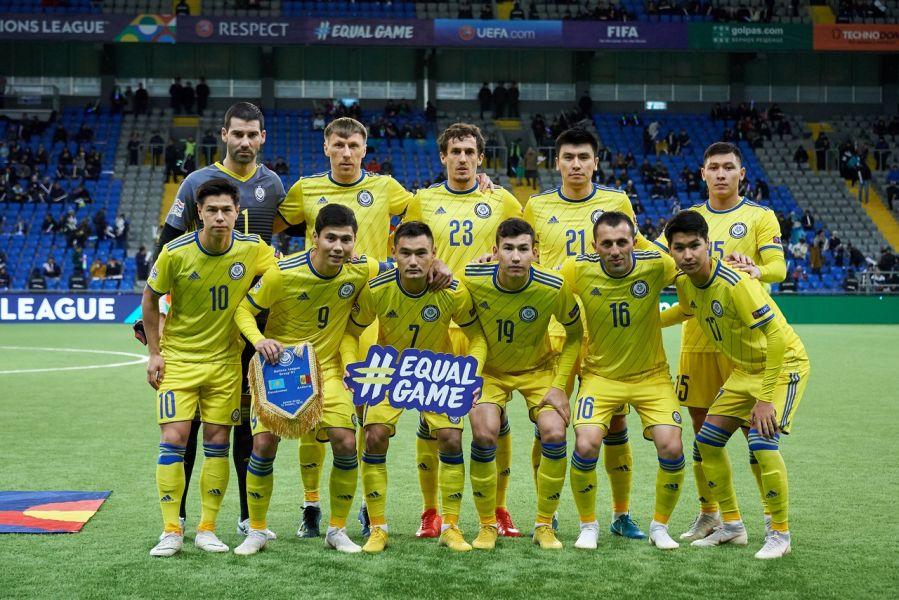 Латвия мен Грузияға қарсы ойнайтын ұлттық құрама футболшыларының тізімі жарияланды