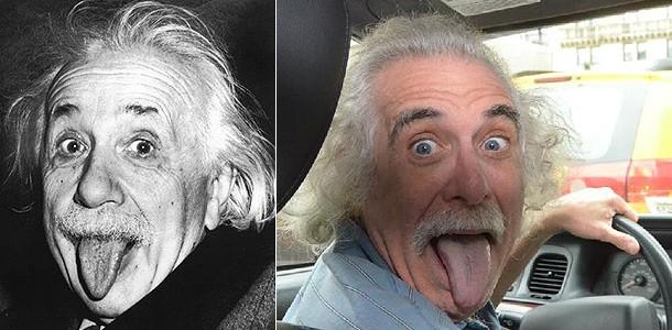 Эйнштейн Нью-Йоркте такси айдап жүр