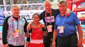 Қазақстандық екі боксшы қыз әлем чемпионатының жартылай финалына шықты