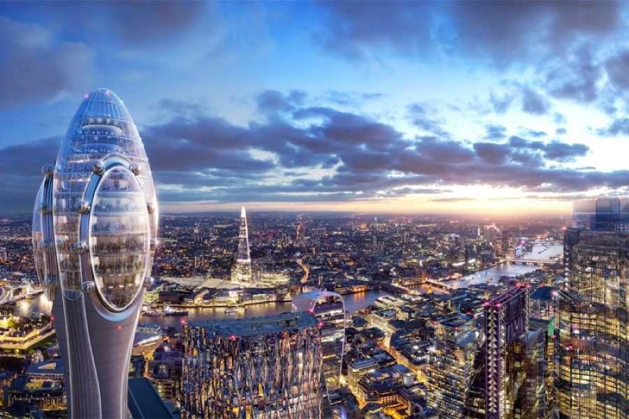 Лондонда 305 метрлік қызғалдақ-мұнара орнатылады