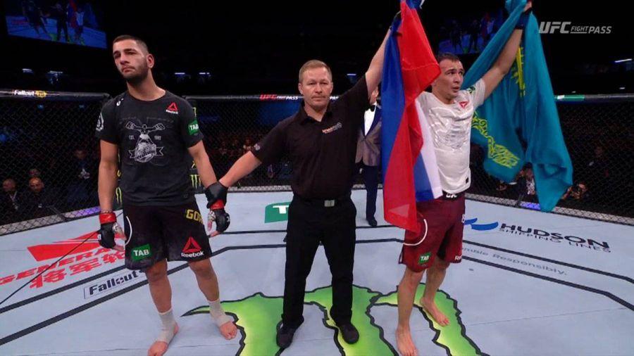 UFC турнирінде алғаш рет бақ сынаған этникалық қазақ жеңіске жетті
