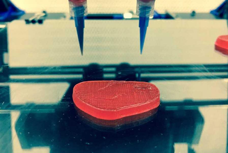 Ғалымдар 3D-принтерден стейк жасап шығарды