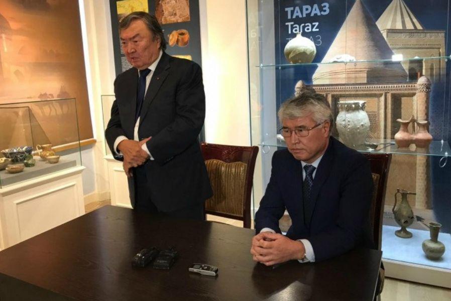 Олжас Сүлейменов жаңа қызметке тағайындалды