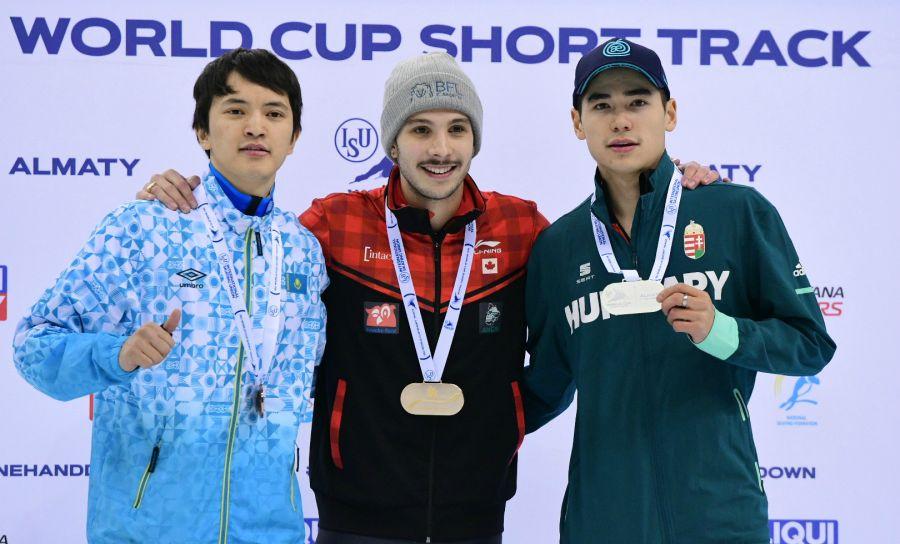 Абзал Әжғалиев Алматыдағы әлем кубогында қола алды