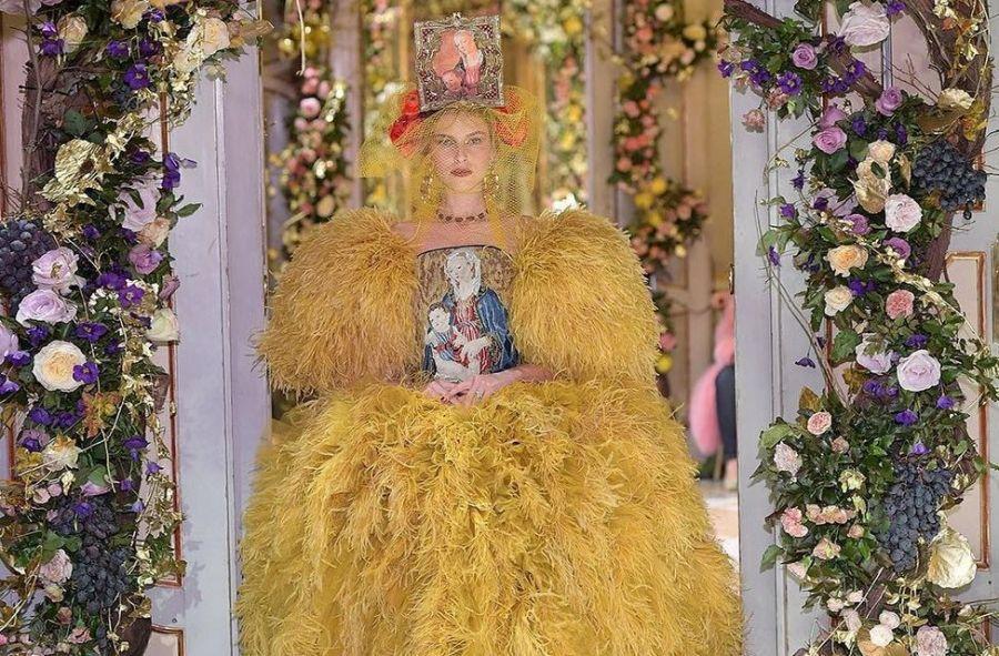 Dolce & Gabbana: Тициан мен Рафаэль картиналарына арналған топтама