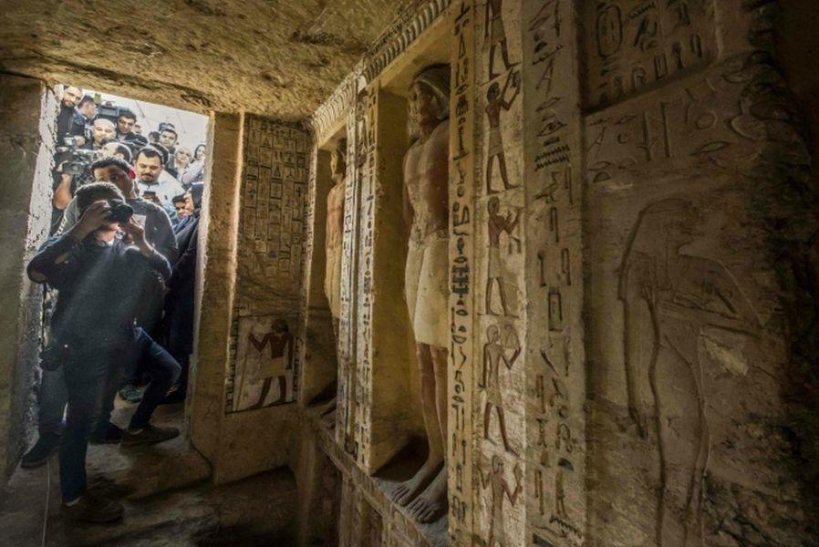 Мысыр елінде 4400 жыл бойы адам қолы тимеген көне қорым табылды