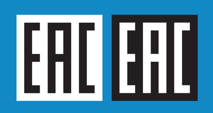 Қорапшадағы EAC белгісі