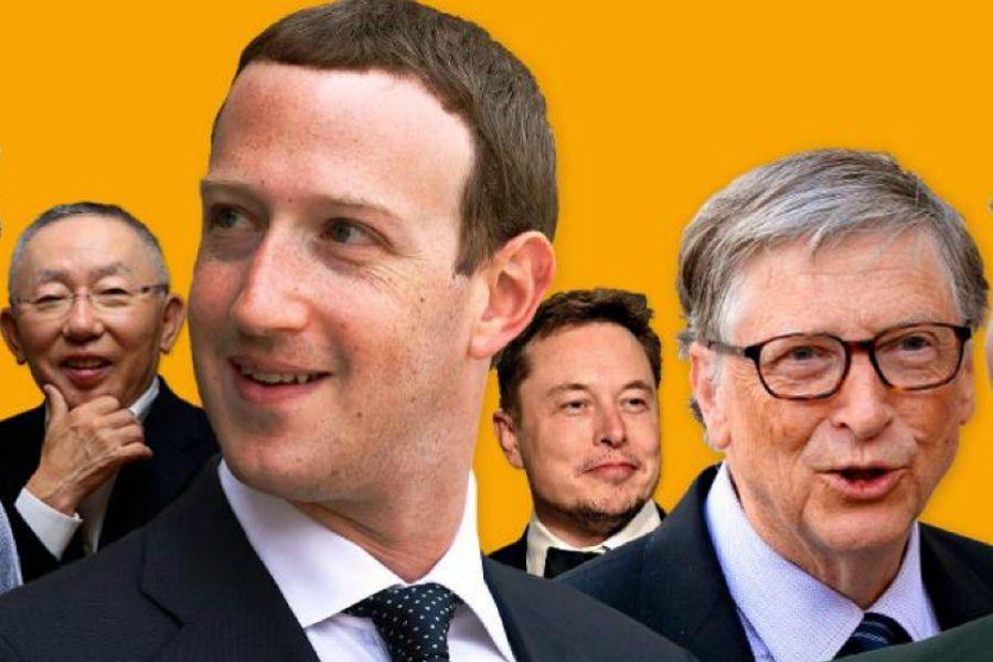 2018 жылы ең көп табысқа кенелген миллиардерлер