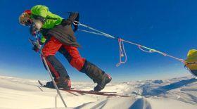 Антарктиданы көмексіз жалғыз жүріп өткен алғашқы адам