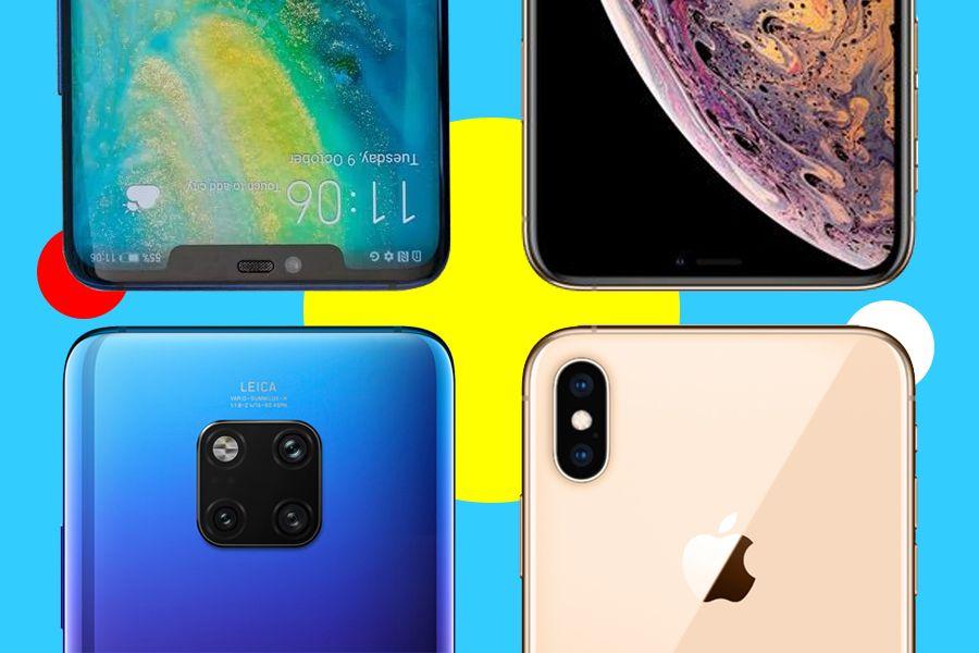 Техношолу: Huawei Mate 20 Pro vs iPhone XS Max