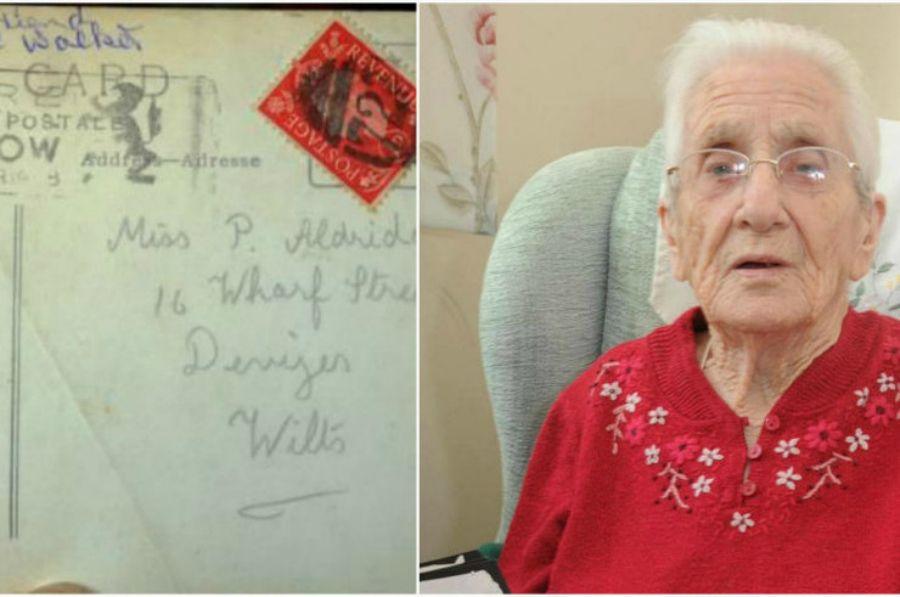 Жауынгердің хаты 77 жыл өткесін сүйіктісіне жетті