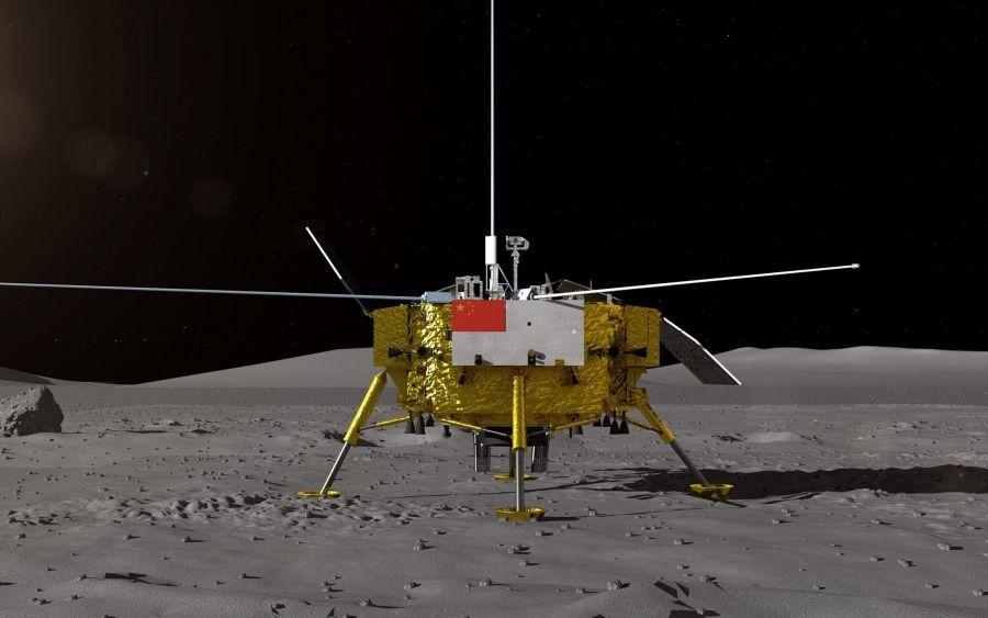 """""""Чанъэ-4"""" зонды адамзат тарихында алғаш рет Айдың арғы бетіне қонды"""