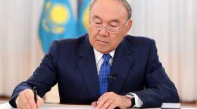 Назарбаев кино туралы заңға қол қойды