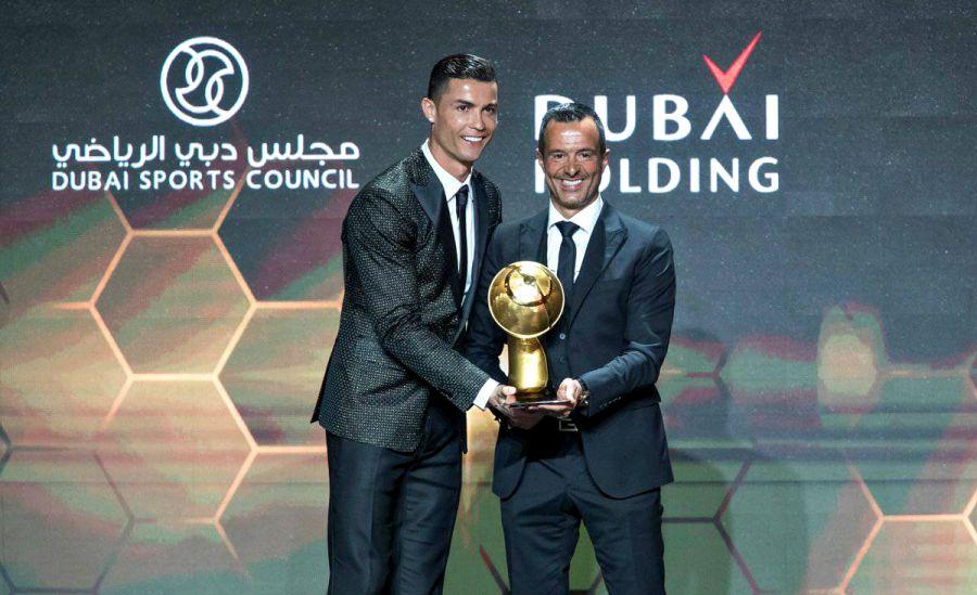 Globe Soccer Awards. Роналду 2018 жылдың үздік футболшысы атанды