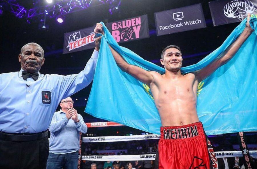 Мейірім Нұрсұлтанов мексикалық боксшыны нокаутпен жеңді