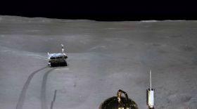 Қытай ғарыштық аппараттың Ай бетіндегі қозғалысын көрсетті