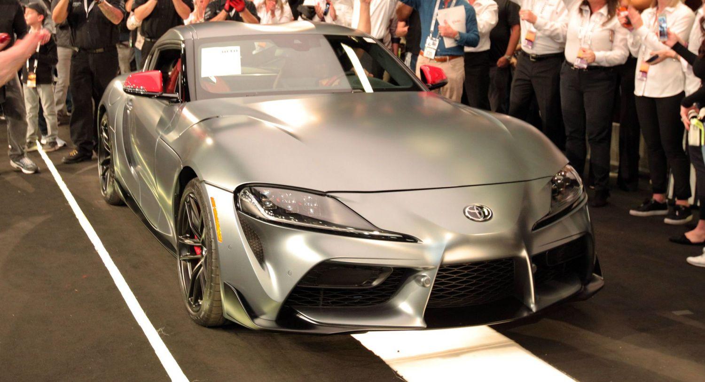 Алғашқы Toyota GR Supra 2.1 млн долларға сатылды
