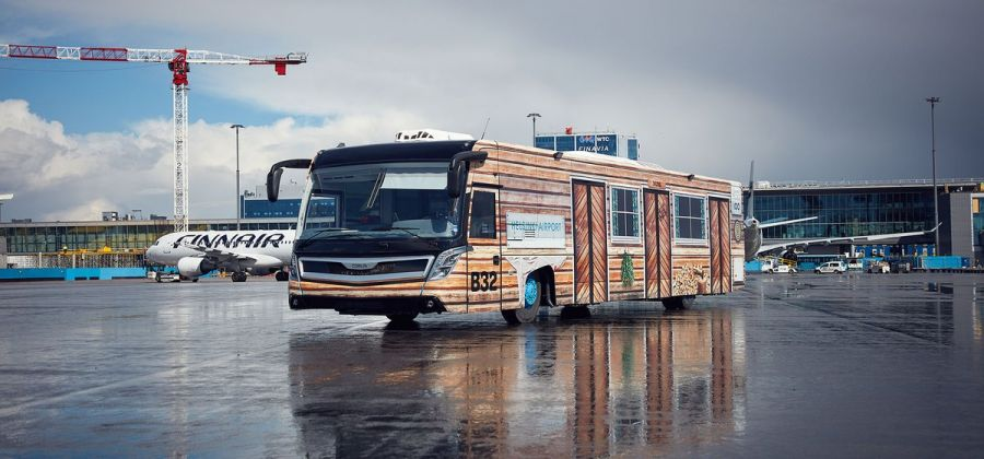 Жапония әуежайында жүргізушісіз автобустар қатынайды