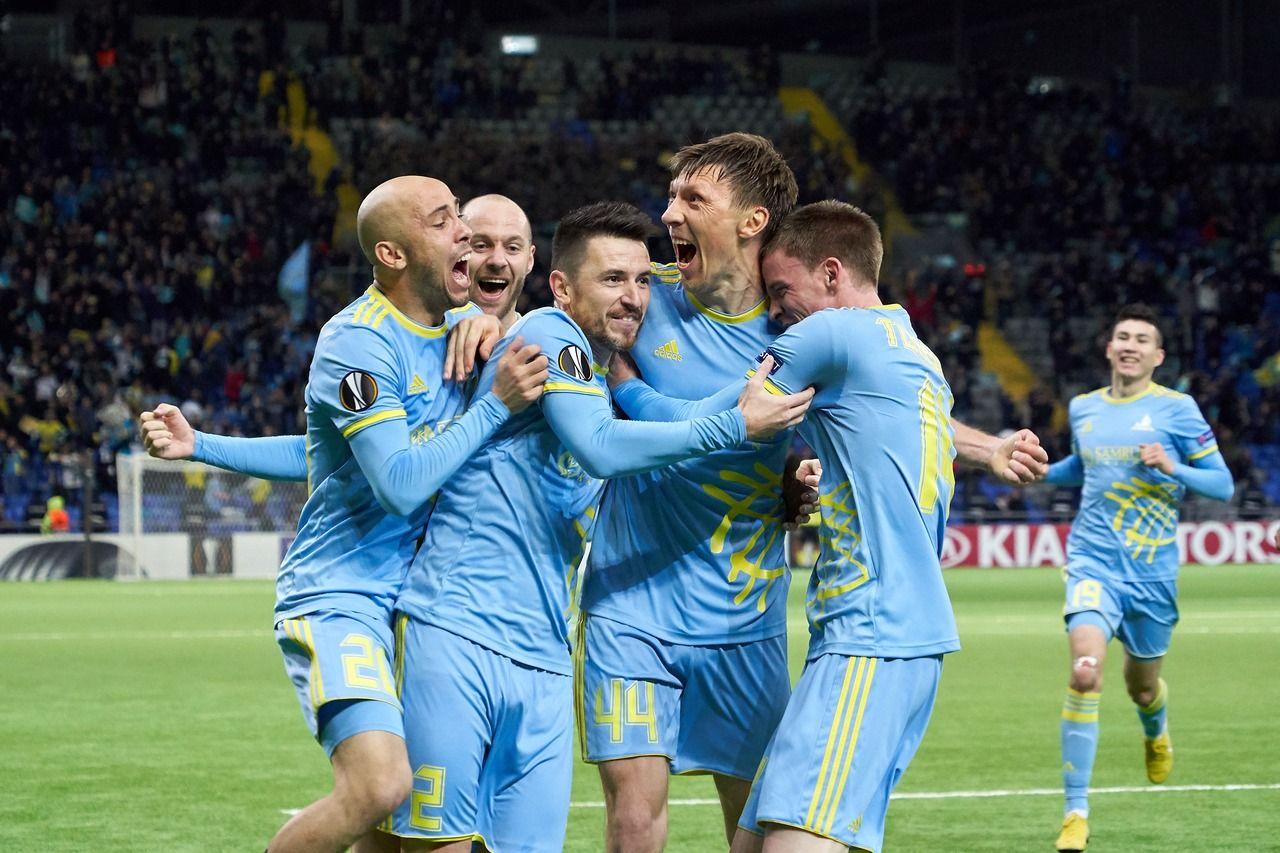 """""""Астана"""" әлемнің үздік 70 командасының тізіміне енді"""