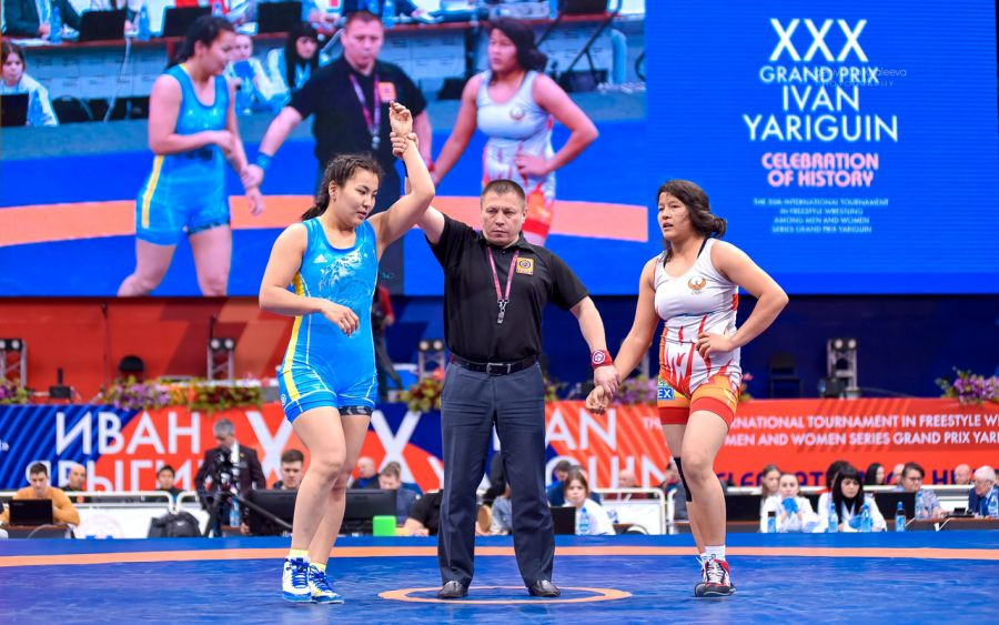 Эльмира Сыздықова Ресейдегі халықаралық турнирде қола жүлдегер атанды