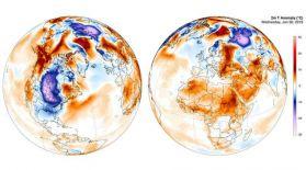 Әлем бойынша қаңтарда 33 ауа температурасы рекорды тіркелді