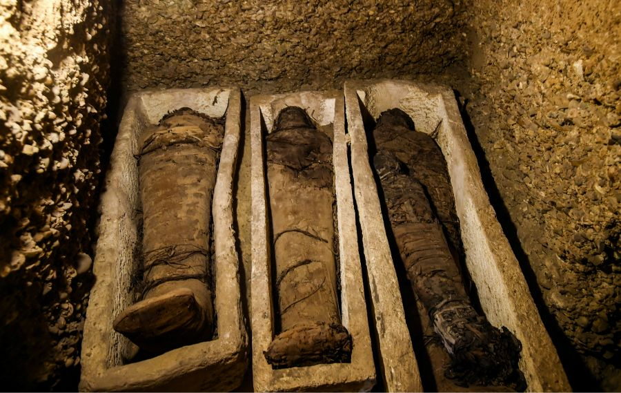 Мысырда 50 мумия жерленген қорым табылды