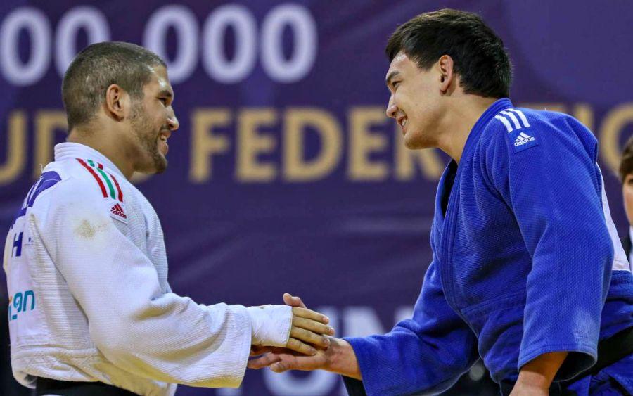 Ислам Бозбаев Париждегі Grand Slam жарысында күміс алды