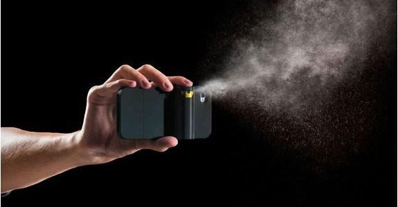 Америкалық жігіт смартфонға арналған газ баллонды қап ойлап тапты