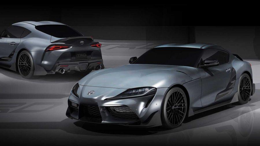 Toyota Supra: Көліктің TRD нұсқасы пайда болды