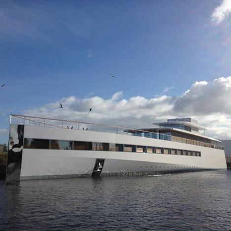 Стив Джобс атындағы яхта