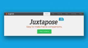 Онлайн-олжа: JuxtaposeJS сервисі