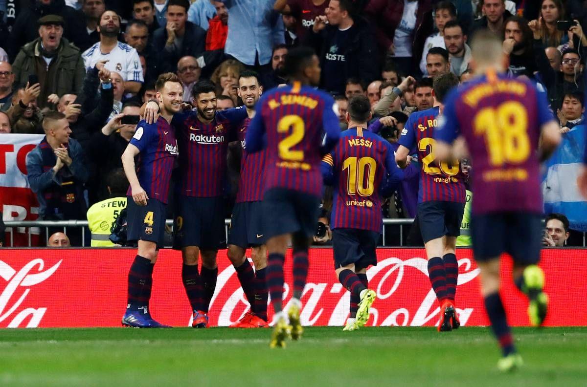 """Мадридте """"Барселона"""" """"Реалды"""" ойсырата ұтты"""