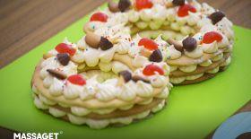 Массагеттен мәзір: Мерекелік торт