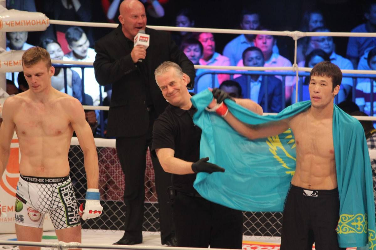 Қазақстандық спортшы UFC ұсынысынан бас тартқан