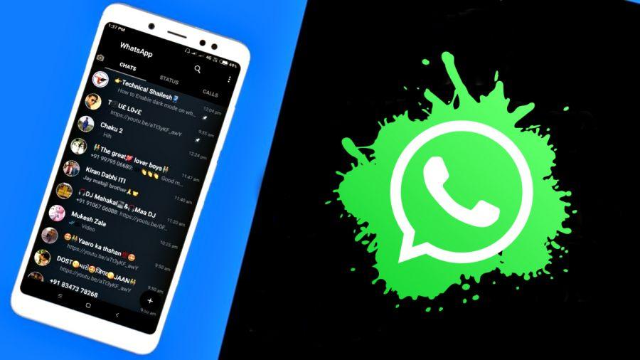 WhatsApp қара түске боялмақ