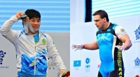Илья Ильин мен Жазира Жаппарқұл Азия чемпионатына қатысады