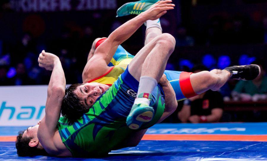 Азия чемпионатына қатысатын қазақ балуандары