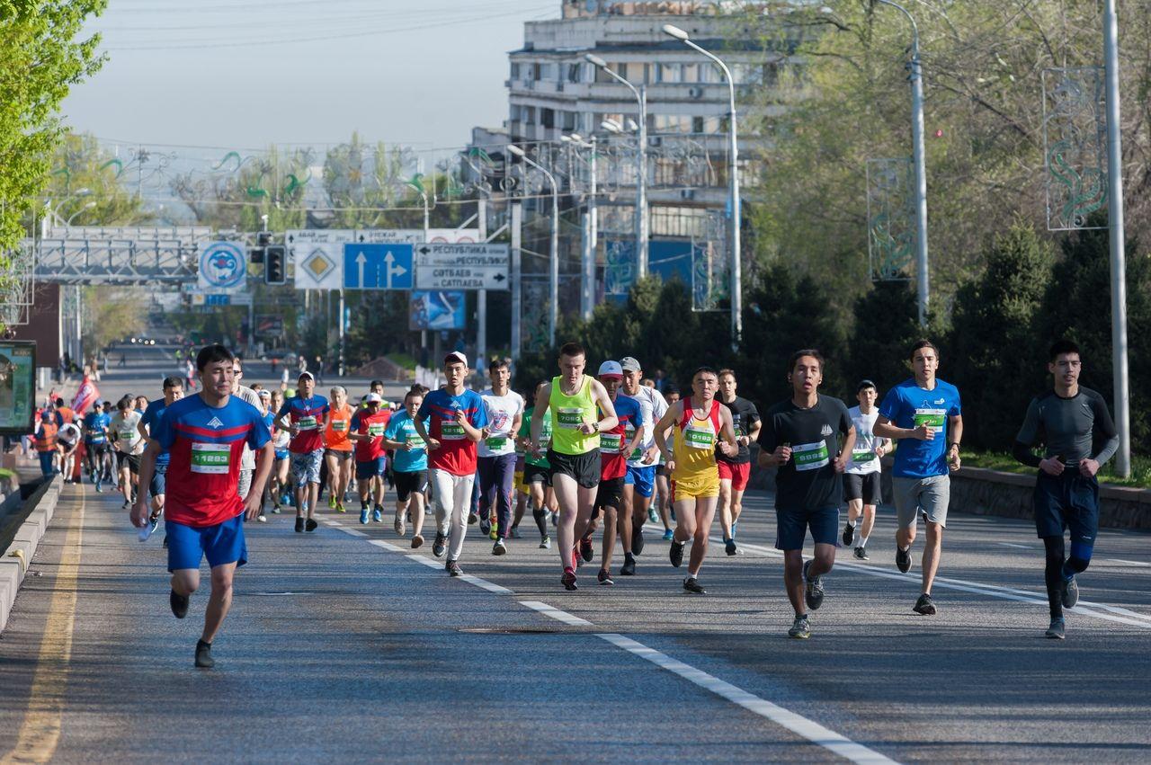 """""""Алматы марафоны"""" кезінде бірқатар көшелер жабылады"""