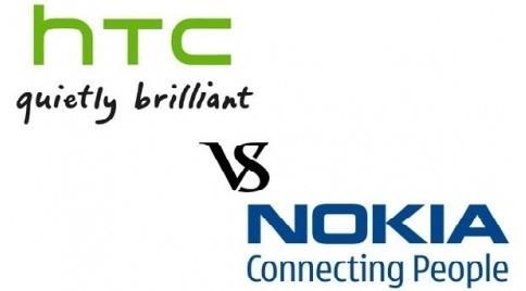NOKIA компаниясы HTC компаниясының үстінен арыз берді