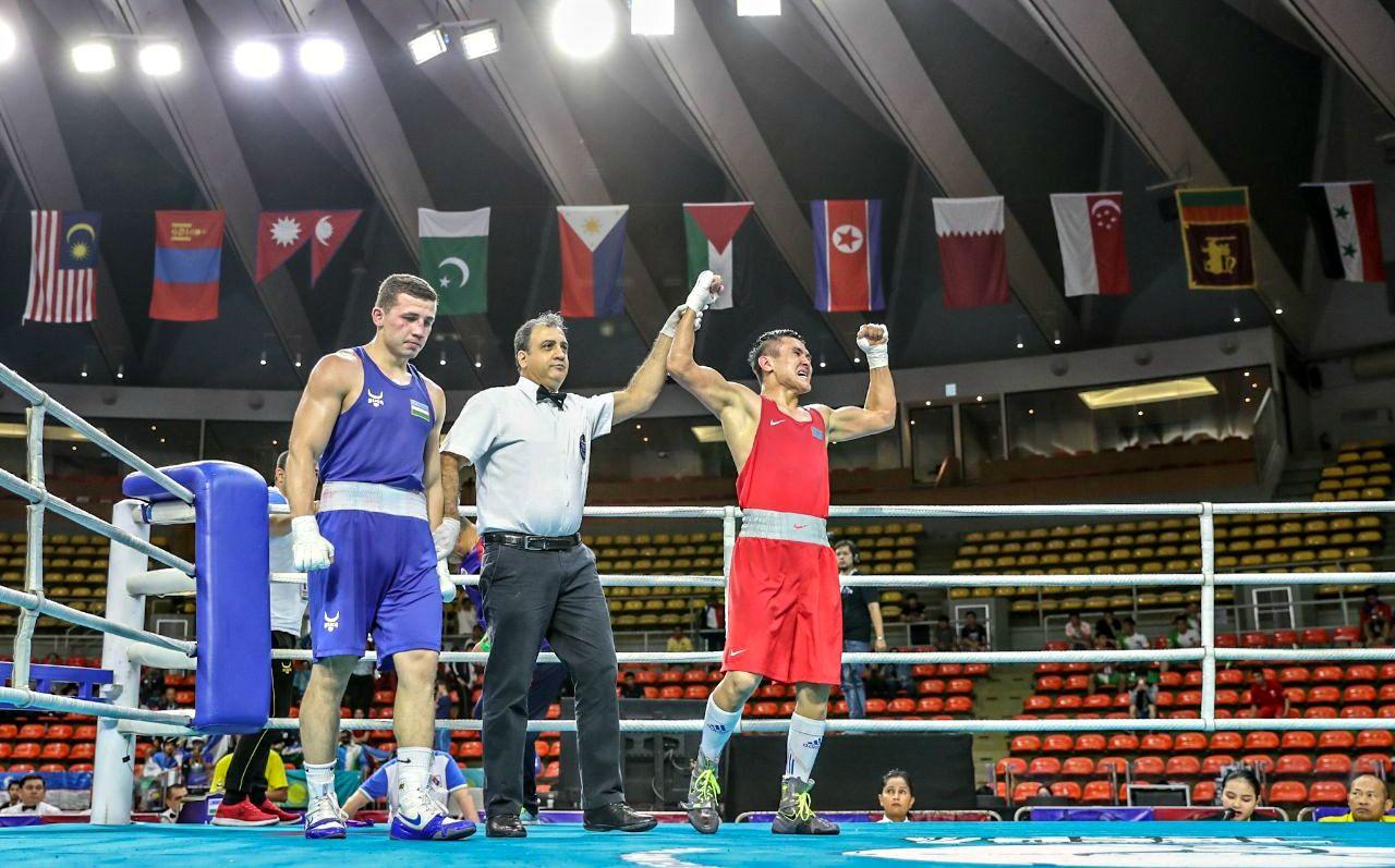 Қазақстандық 7 боксшы Азия чемпионатының жартылай финалына шықты