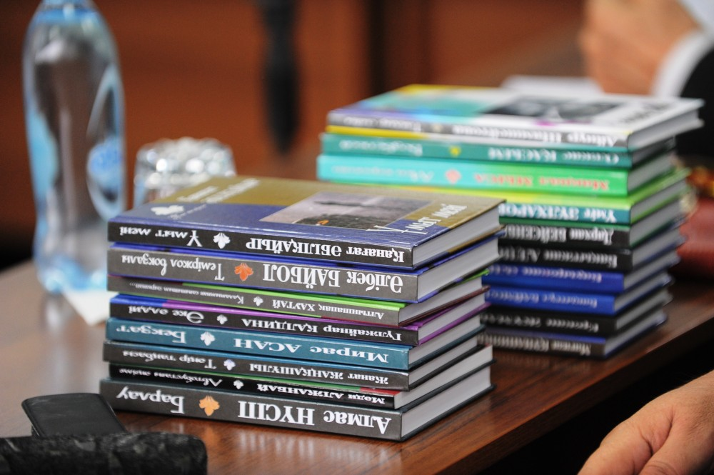 «Жалыннан» шыққан 22 кітаптың тұсаукесері өтті