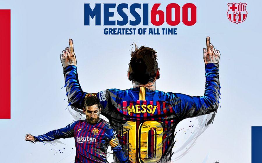 "Месси ""Барселона"" сапындағы 600-голын соқты"