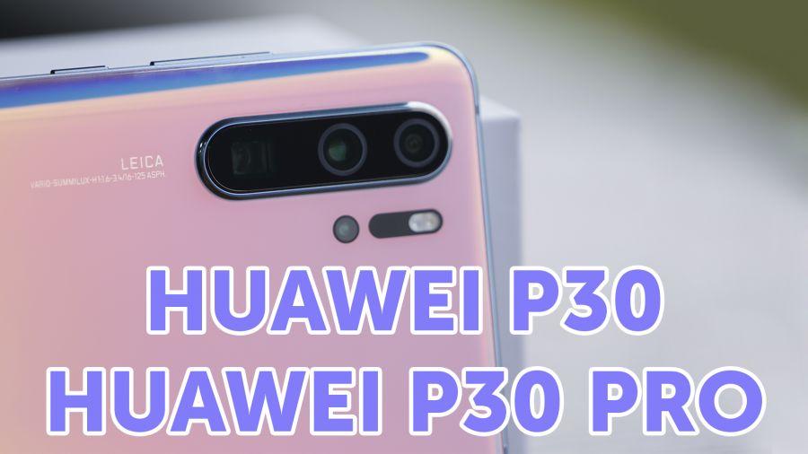 Техношолу: Huawei P30/P30 Pro