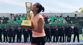 Зарина Дияс Жапониядағы ITF турнирінде топ жарды