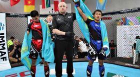 Қазақ спортшылары аралас жекпе-жектен Азияның алды болды