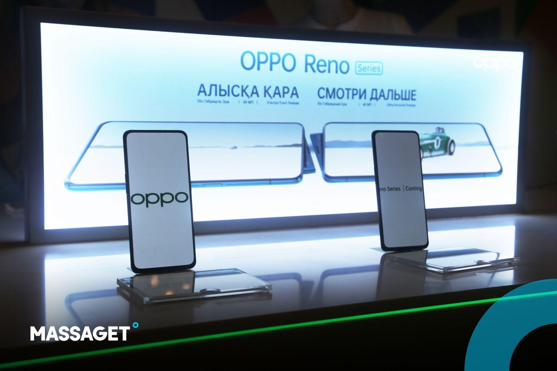 """""""Алысқа қара"""". Oppo Reno смартфондар желісі жарыққа шықты"""