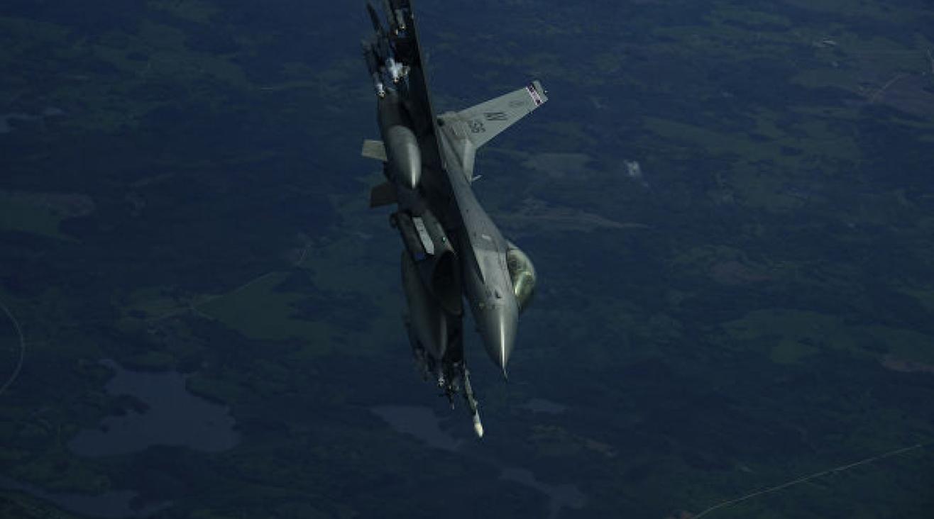 Калифорнияда F-16 жойғыш ұшағы апатқа ұшырады